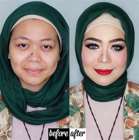 Makeup Vizzily 10 Transformasi Wajah Wanita Sebelum Dan Sesudah Pakai