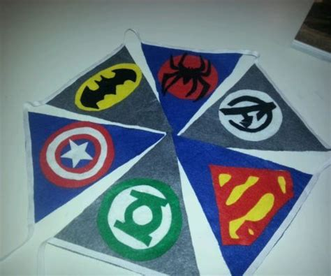 bedroom bunting flags 17 best images about boys bedroom superhero on pinterest