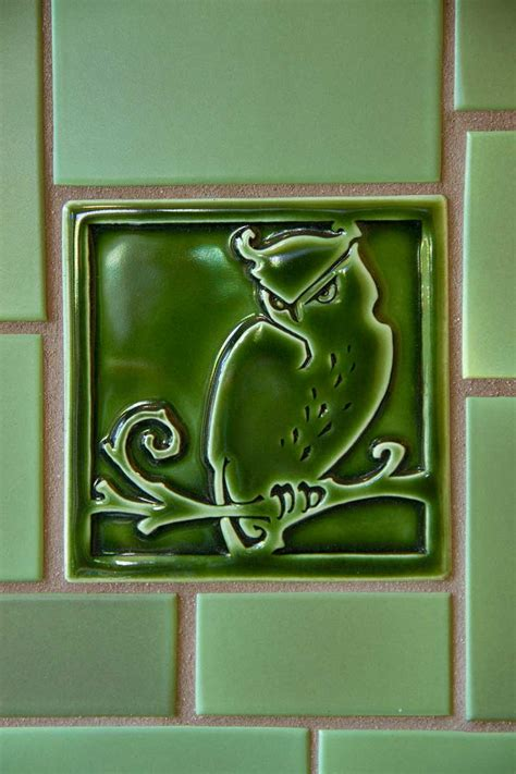 craftsman tile makers design   arts crafts house