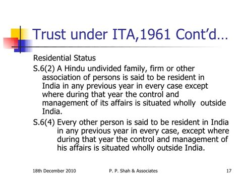 section 164 income tax act taxability of trusts 18 12 10