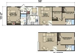 125 x 103 3 2 16x56 champion single wide floor plan tiny