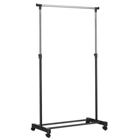 Bunnings Clothes Rack all set 84 x 41 5 x 101 167cm single bar adjustable height garment rack
