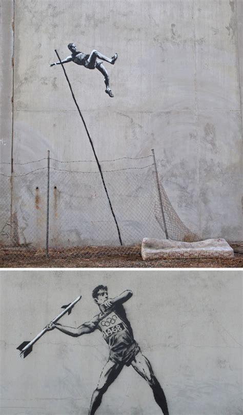 libro banksy art breaks the street art olympics banksy works on 2012 london games urbanist