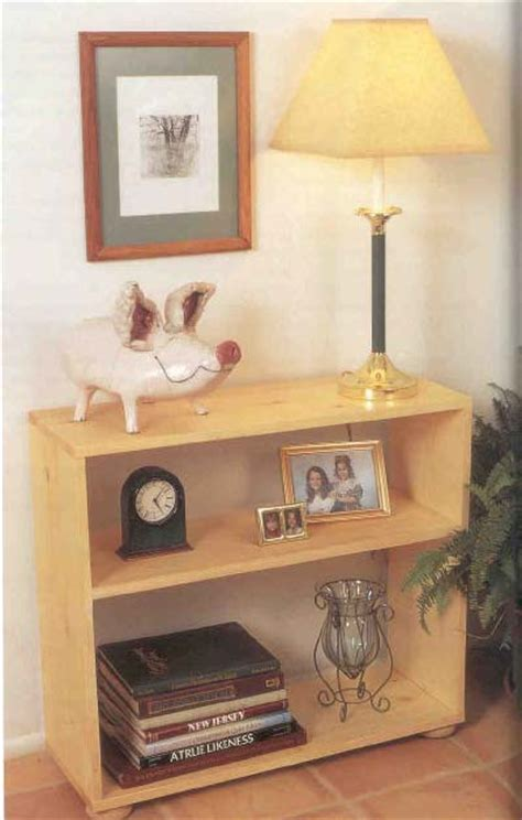 small bookcase wood furniture plans