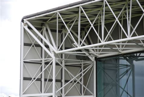 hollow structural section connections and trusses ssef fun is in the details sainsbury centre details