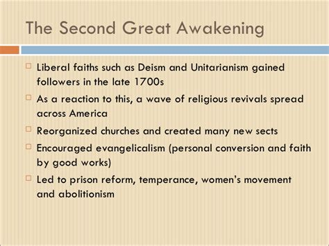 Great Awakening Essay by The Great Awakening Essay Religion In American History Great Awakening Essay Term Paper The