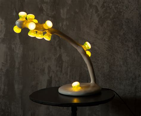 designboom lighting maarten baas bertjan pot sculpt leds clay light series
