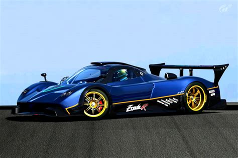 blue pagani zonda pagani zonda cinque hd wallpaper background images
