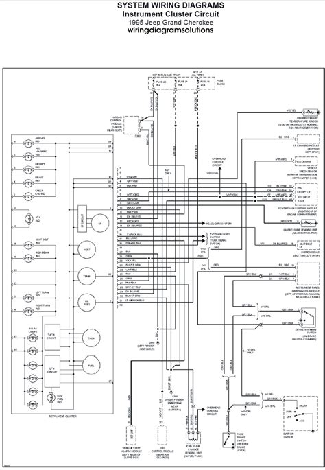 1998 jeep grand radio wiring diagram wiring