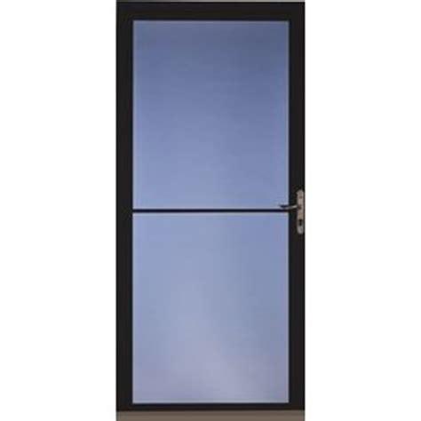 pella retractable screen door pella black full view aluminum storm door common 36 in x