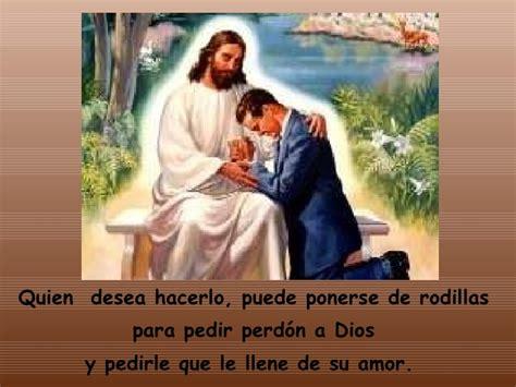 pedir perdon de rodillas dios nos ama