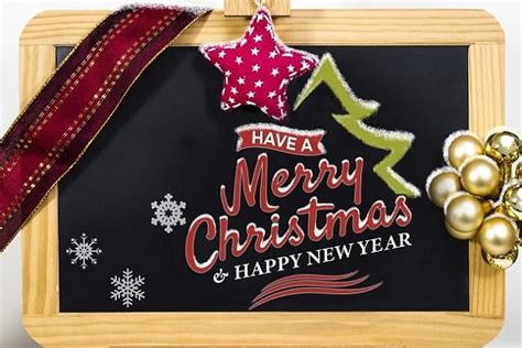merry christmas  happy  year  wishes images