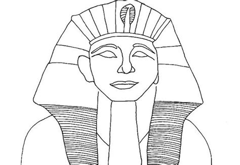 printable egyptian crown ancient egypt colouring sheets pharaoh coloring page a