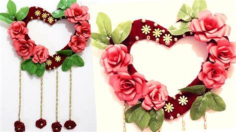 heart wall hanging craft ideas heart decorations