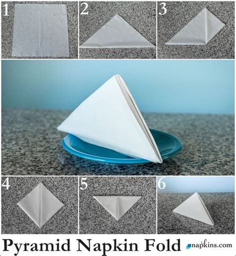 How To Fold A Paper Napkin To Hold Silverware - the world s catalog of ideas
