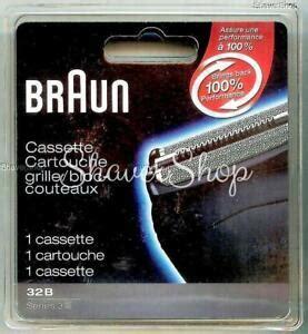 braun series 3 32b cassette new braun 32b series 3 350cc 350 340 330 320 shaver razor