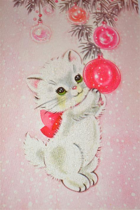 kitten christmas ornaments