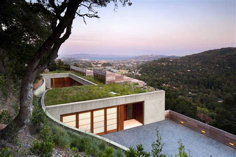homes built into hillside 15 hillside homes that know how to embrace the landscape