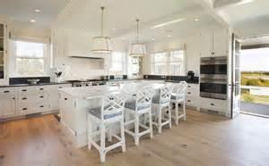 Beach house kitchen neutral beach house kitchen with wide plank
