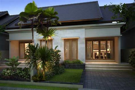 foto rumah minimalis modern satu lantai