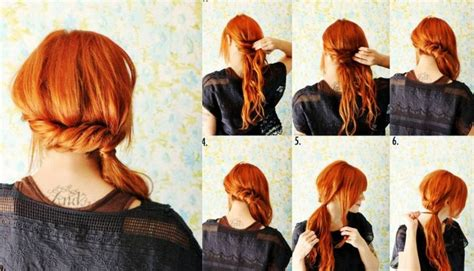 diy easy hairstyles step by step step by step hairstyles easy diy twist step by step