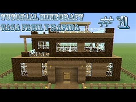 casa facil tutorial minecraft como hacer una casa facil y bonita 1