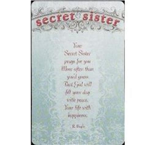 secret pal poems secret on secret gifts