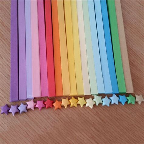 How To Make Lucky Paper Strips - aliexpress buy 2016 handcraft origami lucky