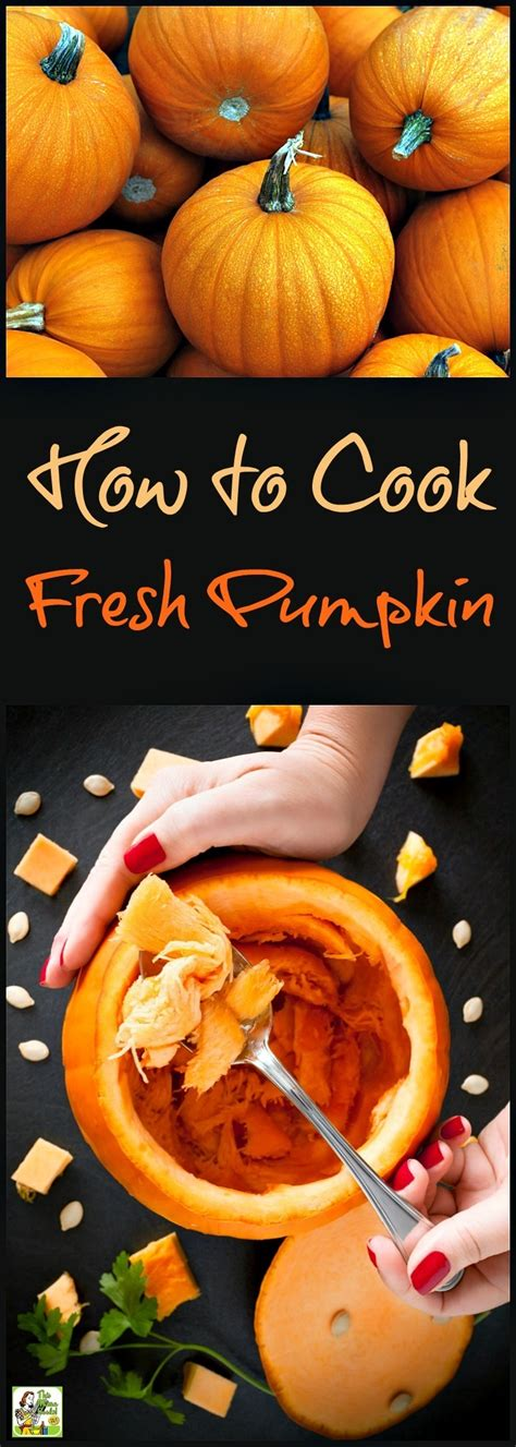 how to cook a fresh pumpkin this mama cooks on a diet