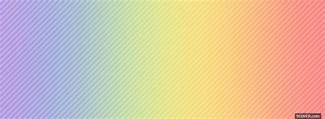 rainbow pastel colours photo facebook cover