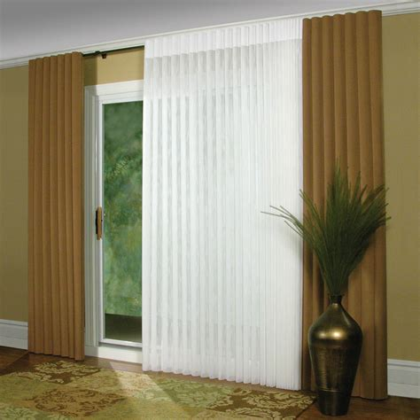 Sliding Glass Door Covering Two Tone Blind Window And Sliding Glass Door Covering Decofurnish