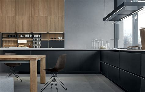 kitchen colombo lacquered wooden kitchen twelve by varenna by poliform