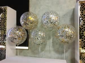 Casino Balloon Decorations Confetti Feature Wall Gold White Silver Balloons In Sydney