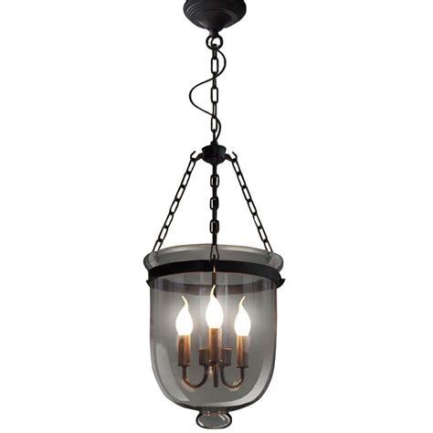 3 Light Black Chandelier Edison Vashti Collection 3 Light Black Clear Glass Indoor Chandelier Ld4044 The Home Depot