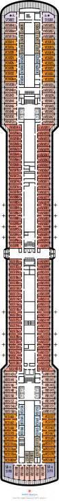 1800 Vanity Numbers Noordam Deck Plans Verandah Deck What S On Verandah
