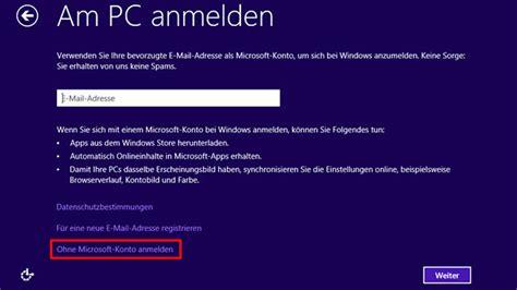 tipp so nutzen sie windows 8 ohne microsoft konto