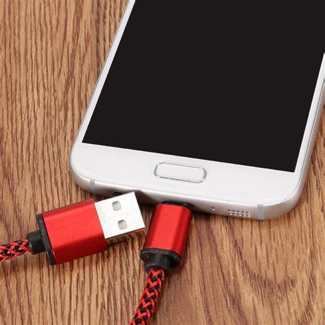 Charger Xiaomi Mi6 Mi5 Fast Charging Usb Type C Mi Original 100 2a braided type c usb fast charging data cable 0 3m for samsung s8 letv xiaomi 6 mi5 mi6