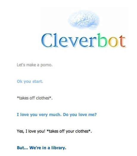 cleverbot evie that there is a time and a place for everything 26