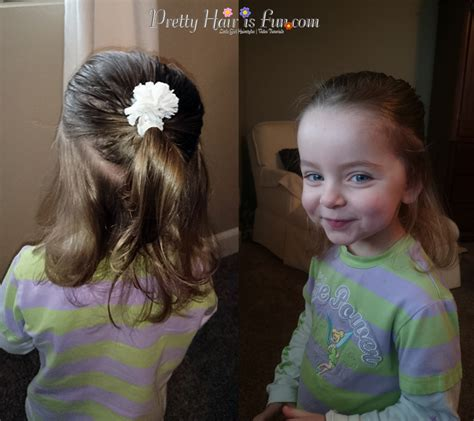 easy hairstyles dads can do girls hairstyles dad can do hair too pretty hair is