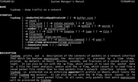 wireshark tcpdump tutorial tcpdump tutorial with exles poftut
