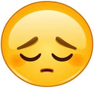 Sad face emoji facebook symbols and chat emoticons