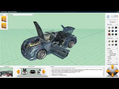 Auto Tuning Konfigurator 3d by 3d Car Configurator 3dcar Model Complexity Youtube