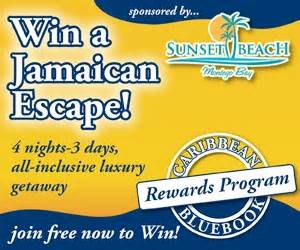 Free All Inclusive Vacation Giveaways - good luck from caribbean bluebook win an all
