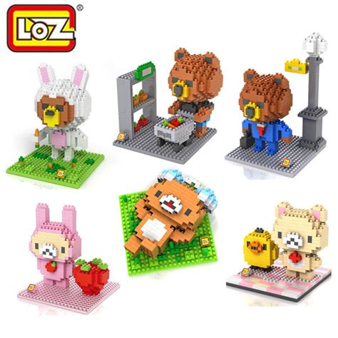 Harga Grosir Loz Lego Nano Block Nanoblock Green Arrow jual lego nano lovely loz rilakkuma kiiroitori