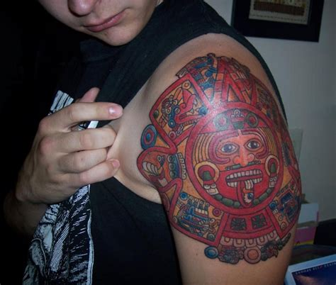 aztec girl tattoo designs aztec tattoos tukang kritik