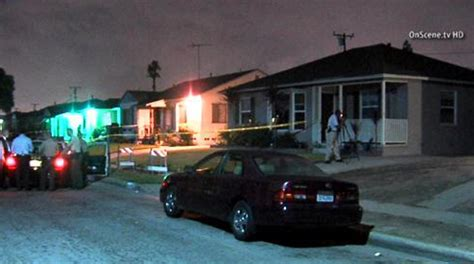 dive by killed in drive by shooting outside compton home 171 cbs
