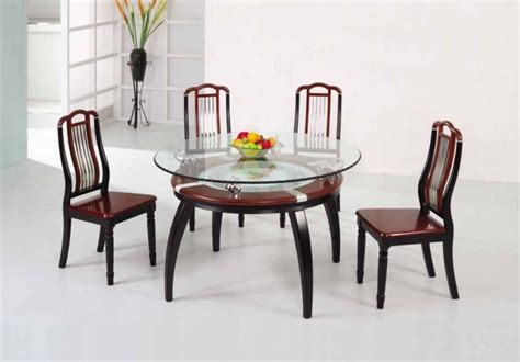 small glass dining table set glass dining table set shelby