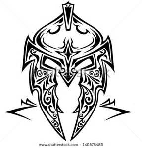 knight helmet tattoo tribal vector pattern free patterns