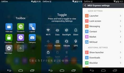themes for miui express experience miui 6 ui on any android phone techtrickz