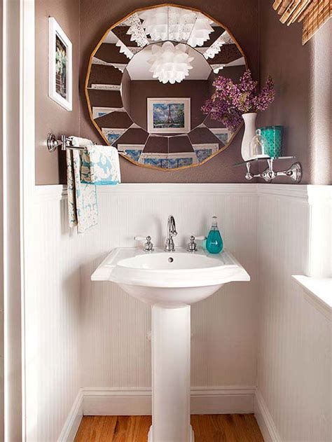 design on a dime bathroom decor on a dime powder room towels and shelves